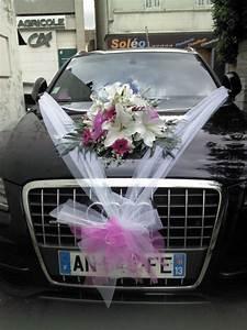 Corbeille De Fleurs Pour Mariage : d coration de voitures pour mariage plan de cuques simone fleurs ~ Teatrodelosmanantiales.com Idées de Décoration