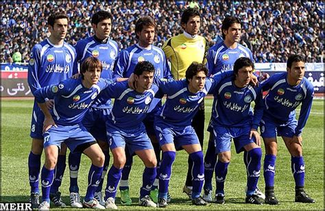 tehran football teams persepolis  esteghlal tie