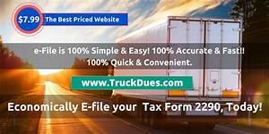 2290 Heavy Vehicle Use Tax Calculator To Estimate Your