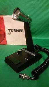 Vintage Turner Super Sidekick Cb  Ham Base Mic Microphone