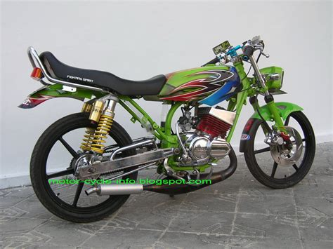 modifikasi motor rx king airbrush motor modif