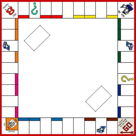 monopoly template board template monopoly board monopoly board board and results
