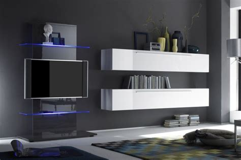 meuble tv bas mural
