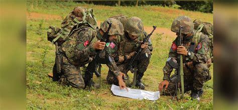 arakan army raids myanmar military base  northern rakhine