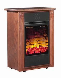 Heat Surge Accent Power Tower Fireplace - Amish Yard