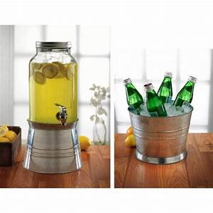 Distributeur Boisson Verre : distributeur de boisson vintage seau glace ~ Teatrodelosmanantiales.com Idées de Décoration