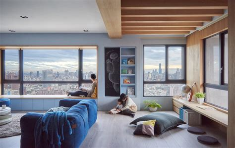 apartment designs modern apartment design with colorful accent that perfect for family roohome designs plans