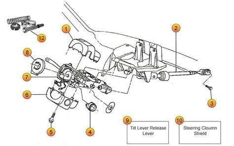 steering column parts  cherokee xj cherokee xj parts