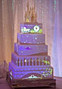 disney wedding cakes disney creates animated wedding cake with magical stories projected onto the icing daily mail