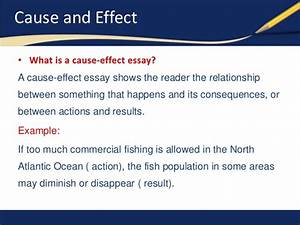 Cause Effect Essay Examples cause effect essay samples 2019