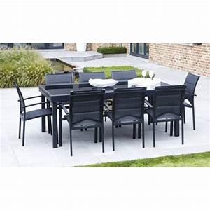 house and garden salon de jardin 12 fauteuils modulo With salon de jardin en aluminium castorama 7 table jardin avec banc