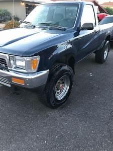 1990 Toyota Pickup Truck 4x4 V6 Manual 60k Miles For Sale