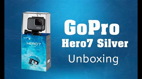 gopro hero silver action camera unboxing cam action