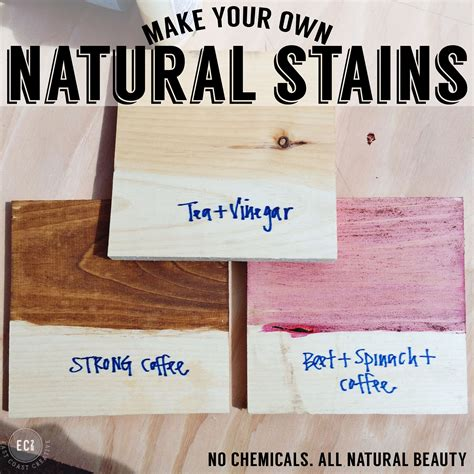 Scrap Wood Wall Art & How To Make Your Own Natural Wood Stains