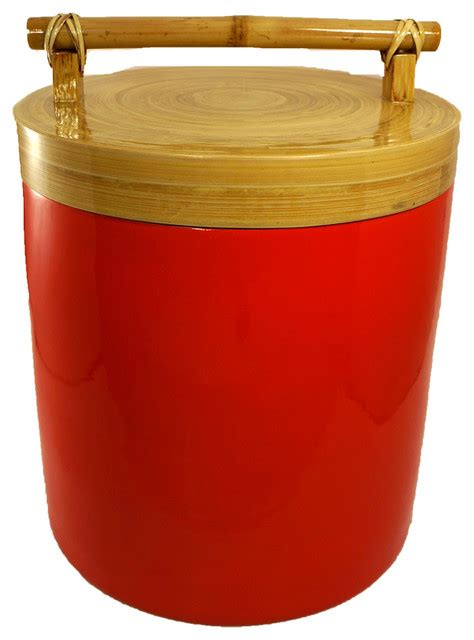 kitchen canisters and jars bodhi tree collections bamboo canister with bamboo
