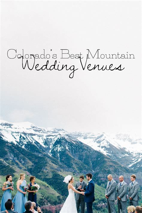 best mountain wedding venues colorado part 1 searching