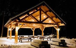 30x40 Log Pavilion