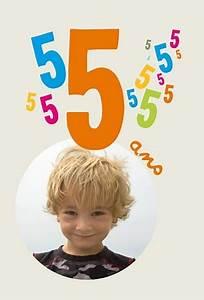 Carte Anniversaire Pour Enfant : invitation anniversaire enfant 5 ans popcarte ~ Melissatoandfro.com Idées de Décoration