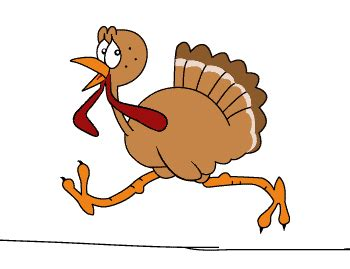 turkey running in a turkey trot template turkey gif 187 gif images download