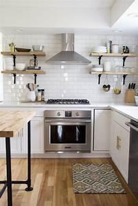 La cuisine blanche et bois en 102 photos inspirantes for Idee deco cuisine avec meuble scandinave bois et blanc