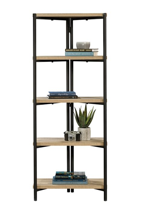 Industrial Style Bookcase by Industrial Style 5 Shelf Chunky Bookcase