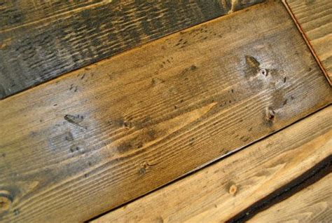 distressing wood how to make new wood look old