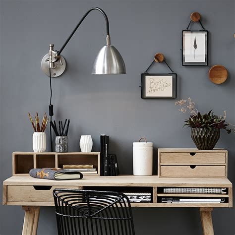 le de bureau articul馥 idées rangement pour le bureau décoration
