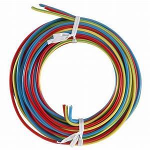 comment choisir ses fils et cables electriques leroy With couleur de fil electrique