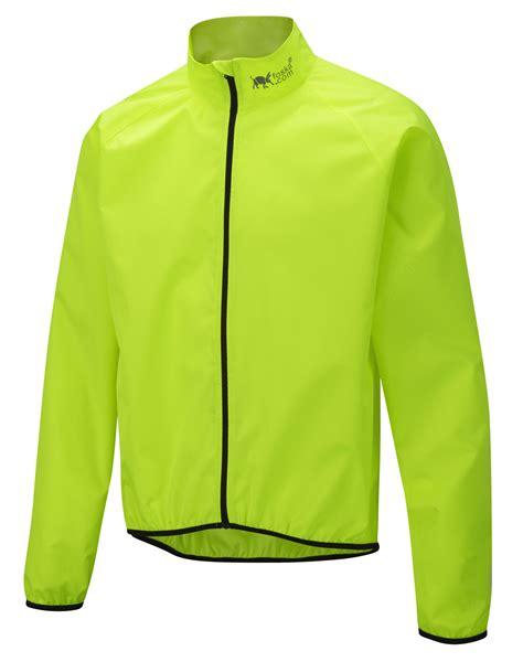 yellow cycling jacket oska hi vis windshell cycling jacket yellow foska com