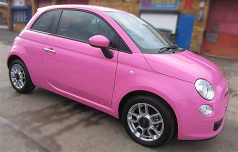 Fiat Pink by Fiat 500 Pink Wrap Concepts