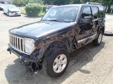 wrecked jeep sell used 2011 jeep liberty limited 4wd non salvage