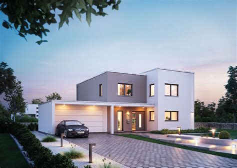 Moderne Häuser Deutschland by Futura Bauhaus Kern Haus Traumhauspreis 2015