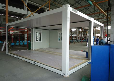 expandable flat pack shipping container  steel beam