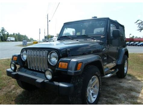 Used 2004 Jeep Wrangler Columbia Edition 4x4 For Sale