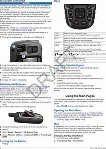 Garmin A2401 Outdoor Gps User Manual