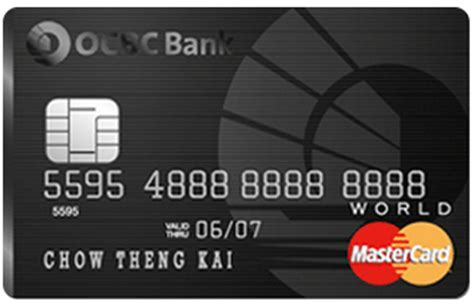 Complimentary access to plaza premium lounge and golf clubs around the world. OCBC World MasterCard   Malaysia Credit Card   Malaysia ...
