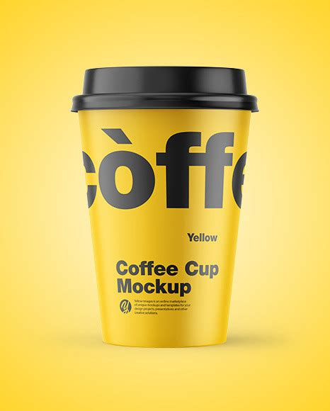 Download free mockups in psd. Download Paper Coffee Cups Mockup Yellowimages - Matte ...