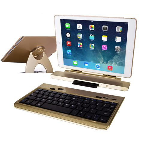 Best 360 Degree Rotation Removable Gold Ipad Air 2