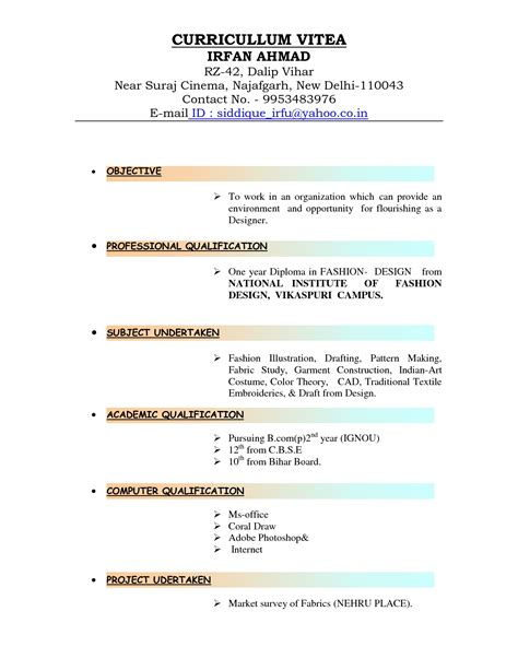 how to type up a resume sles of resumes