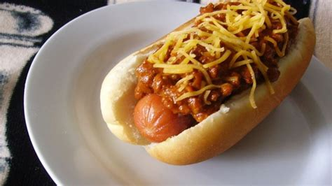 hot dog chili  chili dogs recipe allrecipescom