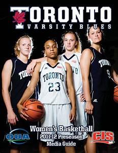 2011-12 Varsity Blues Women's Basketball Preseason Media ...