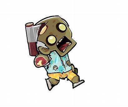 Zombie Male Sprite Character Run