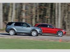 MercedesBenz GLC vs Land Rover Discovery Sport and BMW
