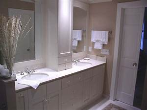 double sink vanities with storage towers bathroom vanity With bathroom vanities with storage towers