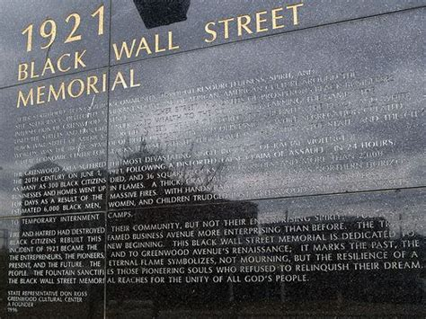 tulsa black wall street   oklahoma bombing
