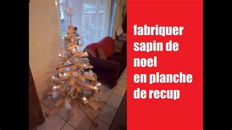 Fabriquer Un Sapin En Bois Diy Fabriquer Sapin De Noel En Bois De Recuperation How To Make A Tree