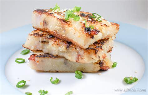 chinese turnip cake salt chili