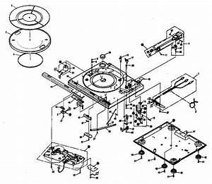 Pioneer Stereo Turntable Parts