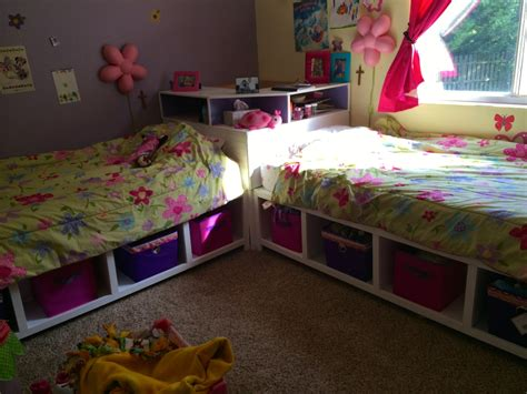storage twin beds  corner unit  secret hideout