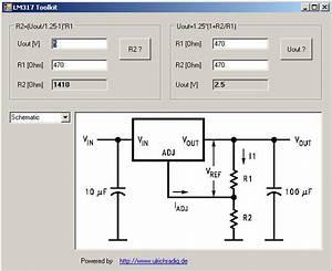 Schaltungen Berechnen : ulrich radig mikrocontroller and more lm317 calc ~ Themetempest.com Abrechnung